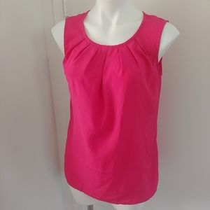 Merona pink business casual work blouse